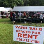 'Longest Yard Sale' kicks off amid pandemic