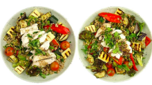 Can you tell which of these salads has double the calories of the other?