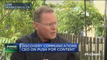 Discovery Communications CEO David Zaslav: We're progress...
