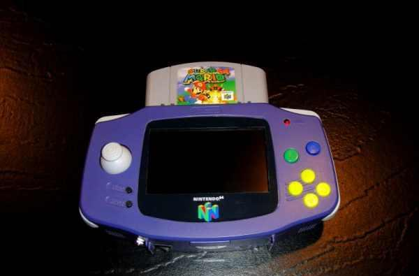 N64Boy Advance is one fine lookin' Nintendo 64 handheld