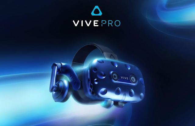 HTC has a new high-res Vive Pro VR headset