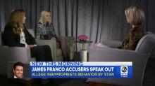 Acusadoras de James Franco aclaran que no es un Harvey Weinstein