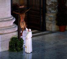 Pope backs U.N. chief's call for global ceasefire to focus on coronavirus