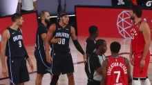 Magic forward Aaron Gordon exits game with hamstring injury
