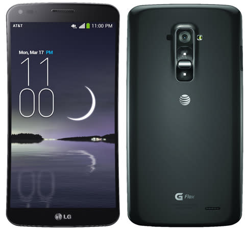 LG's curved G Flex phone comes to AT&T, Sprint and T-Mobile later this quarter