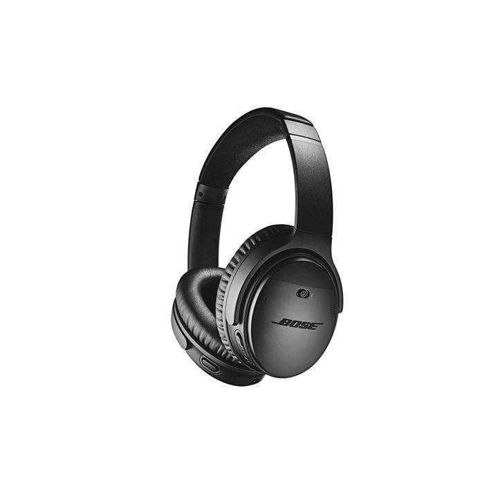 """<p><strong>Bose</strong></p><p>amazon.com</p><p><a href=""""https://www.amazon.com/dp/B07G95TJ3P?tag=syn-yahoo-20&ascsubtag=%5Bartid%7C10060.g.33647509%5Bsrc%7Cyahoo-us"""" rel=""""nofollow noopener"""" target=""""_blank"""" data-ylk=""""slk:Shop Now"""" class=""""link rapid-noclick-resp"""">Shop Now</a></p><p><strong>$199</strong><del><br>$349</del></p><p>These sturdy, comfortable, over-ear headphones, now a whopping $150 off for Prime Day, have the excellent sound quality Bose is known for. Battery life is just 20 hours, but an included power cord lets you use your headphones on days when you let them drain of all their juice. One Action button lets you access Amazon Alexa or Google Assistant, as well as adjust between three levels of noise cancellation (which you can also do, among other things, via the Bose Connect app on your phone). </p>"""
