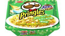 日本新花招!Pringles 推出獨家口味方便麵