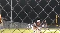 Incredible Baseball Trick Squeeze Play