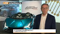 Lamborghini CEO: Too Early for a Full-Electric Car