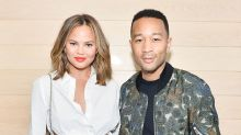 Chrissy Teigen and John Legend Step Out in Matching Ensembles for Lovey-Dovey Date Night -- See the Pics!