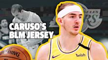 Alex Caruso on Whataburger, The NBA Bubble, and Social Justice Jerseys.