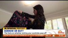 Should you rent your clothes?
