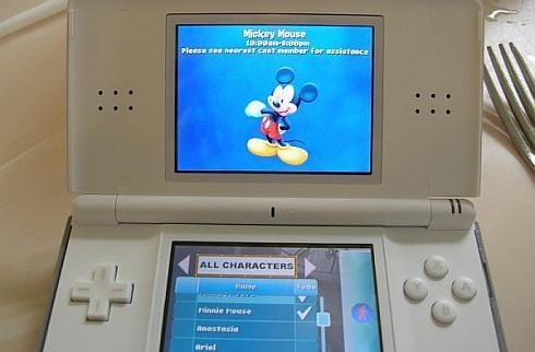 Disney uses the DS as tiniest tour guide