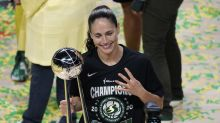 Sue Bird on USWNT's favorable coverage compared to WNBA: 'Soccer players generally are cute little white girls'