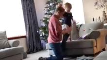 Zeitraffer-Video: Frau beweist Mann, was Muttersein wirklich heißt