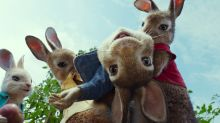 Rascally James Corden wreaks havoc in exclusive 'Peter Rabbit' trailer