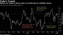 Tesla Layoffs Stoke Wall Street's Long-RunningBull-Bear Clash