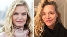 Michelle Pfeiffer, 61, shares makeup-free selfie