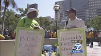 Wal-Mart protesters call for better wages, benefits