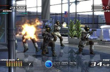 Time Crisis 4: FPS shooting for a new generation
