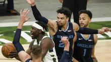 Grizzlies top Bucks 128-115 as they start fast on long trip