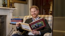 Prince Harry shares love of Thomas the Tank Engine in introduction to 75th anniversary episode
