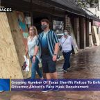 Growing Number Of Texas Sheriffs Refuse To Enforce Governor Abbott's Face Mask Requirement