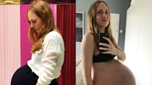 Mum expecting triplets goes viral after sharing incredible images of her journey