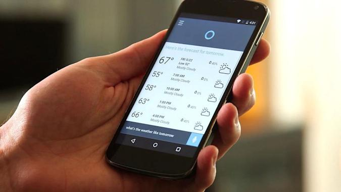 Microsoft unveils Cortana voice assistant for Android and iPhone