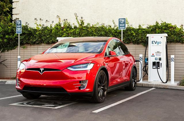 EVgo will support Tesla cars at over 600 fast charging stations
