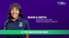 Red Sox's Bianca Smith on women in pro sports: 'We actually can do these jobs'
