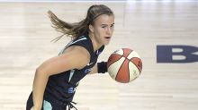 Liberty star Sabrina Ionescu helped off court after ankle injury in WNBA bubble
