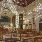 Church and hotels targeted in Sri Lanka bombings on Easter Sunday