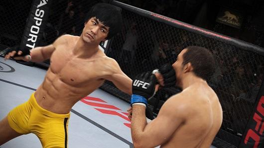 EA Sports UFC trailer empties its mind with Bruce Lee
