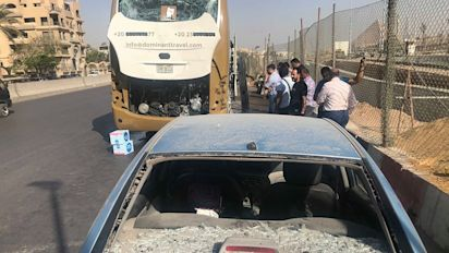 Mehrere Verletzte bei Anschlag nahe Pyramiden von Gizeh