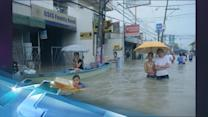 Philippine Floods Cause More Chaos In Waterlogged Manila