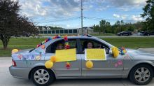 Retirement home throws emotional social distancing parade for residents: 'I'm still on cloud 9'