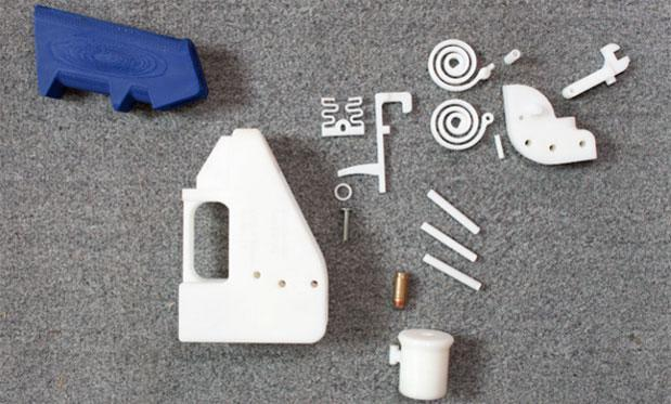 The Liberator, the first completely 3D-printed gun, gets test-fired (video)
