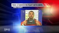 Police: Man Beats Up Wife, Stabs Self in Chest