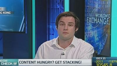Content hungry? Get 'screen stacking'