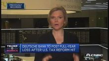 Deutsche Bank to post full-year loss after US tax reform ...