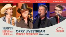 Grand Ole Opry Live: Watch Trace Adkins, Dustin Lynch, and Blake Shelton and Gwen Stefani perform