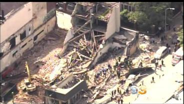 Memorial Planned At Site Of Fatal Building Collapse