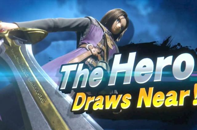Dragon Quest XI's hero comes to 'Super Smash Bros. Ultimate' this summer