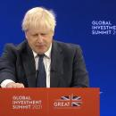 UK PM Johnson announces $13.4 billion in foreign investment