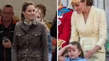 Duchess of Cambridge tried to plait Princess Charlotte's hair - but things didn't go 'very well'