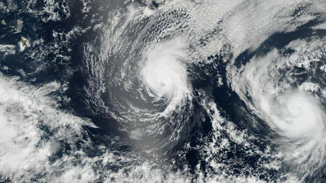 Hawaii Braces for Hurricanes Iselle and Julio