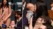 Jacinda Ardern proves she's the ultimate doting mum to baby daughter Neve