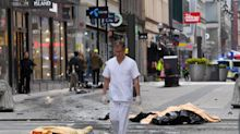 The Stockholm terror attack in pictures