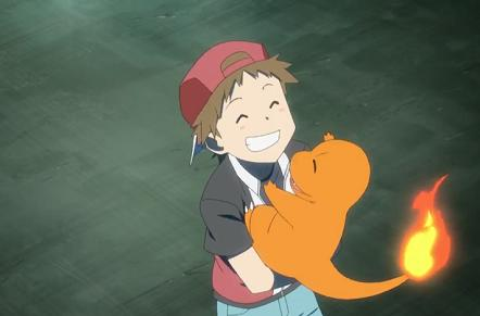 Red and Charmander meet in Pokemon Origins trailer